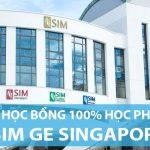 35 suất học bổng trị giá 100% học phí Học viện quản lý SIM Singapore